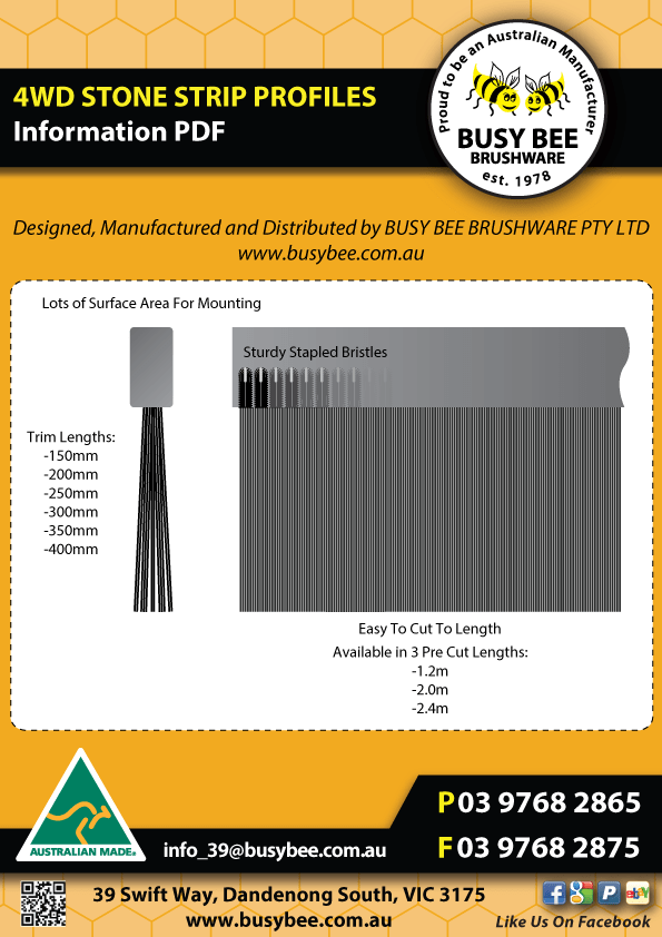 Busy-Bee-Brushware-4WD-Stone-Strip-Profile