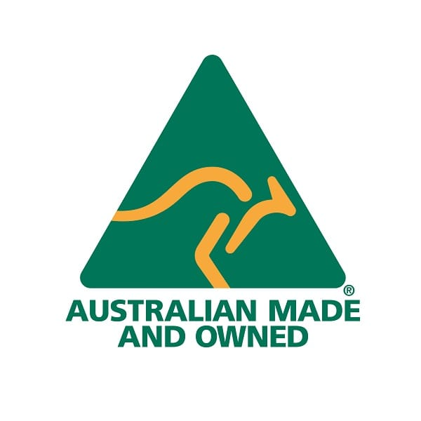 Australian Made & Owned full colour logo 600×600