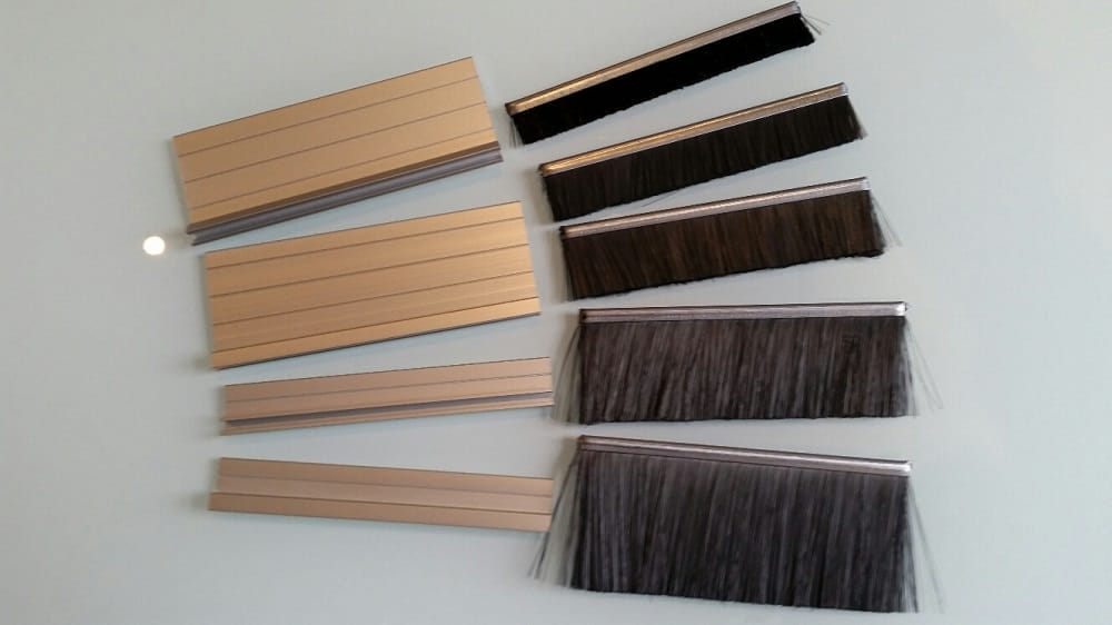 4mm Residential Fire Retardant Fibre Strip Brush And Garage Door