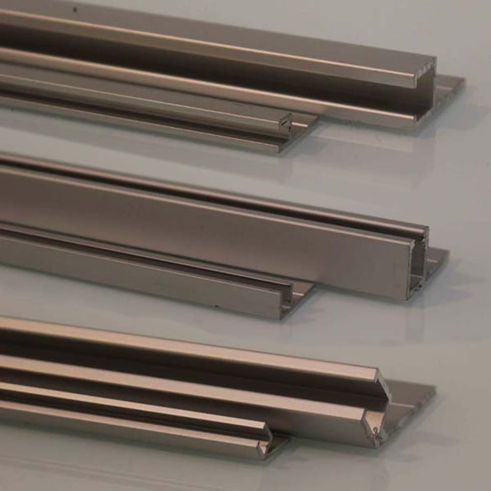 Aluminum holder for 9mm strip brush and garage door seals busy aluminum holder for 9mm strip brush and garage door seals rubansaba
